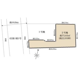 2号棟の間取図