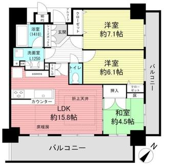ワコーレ須磨本町ステーションコーストの間取図