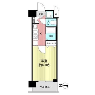 プレサンス京都三条響洛の間取図