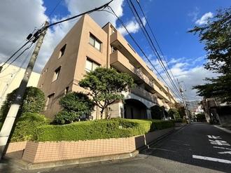 高田馬場パークハウス壱番館の外観
