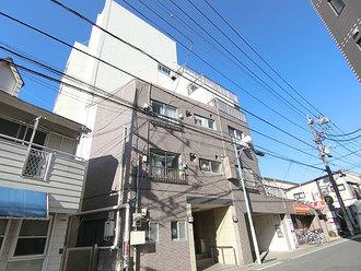 富士見台ハイツの外観