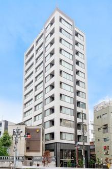 シェフルール駒込駅前の外観