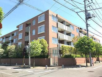 ザ・フィネスト上野毛パークハウスの外観