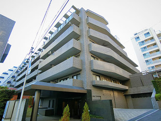 ルピナス渋谷桜丘ガーデンコートの外観