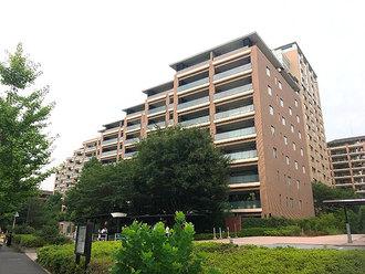 広尾ガーデンフォレスト桜レジデンスB棟の外観