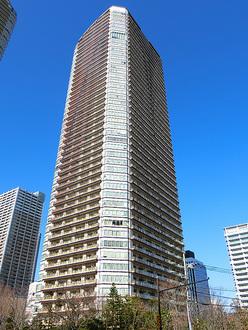 パークシティ武蔵小杉ステーションフォレストタワーの外観
