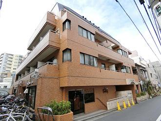 ライオンズマンション渋谷の外観