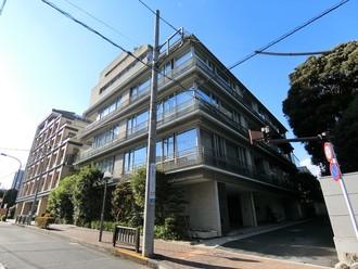 パークハウス常磐松の外観