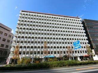 ヴァン・ヴェール新宿の外観