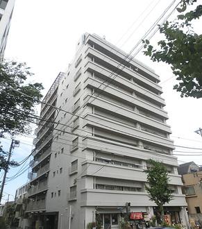 武蔵野サマリヤマンションの外観