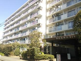 藤和西横浜ハイタウンの外観