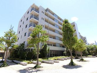 ザ・パークハウス横浜大口の外観