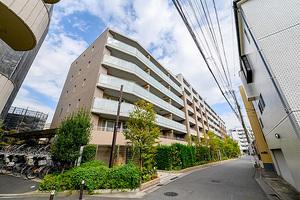 ザ・パークハウス新川崎の外観
