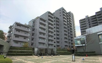 パークハウス多摩川南壱番館の外観
