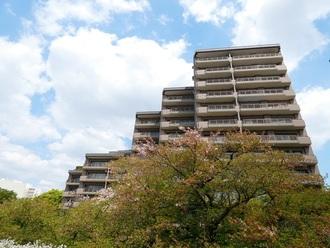 パークハウス多摩川北弐番館の外観