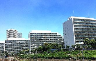 ニューシティ東戸塚 南の街の外観
