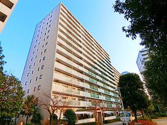 ニューシティ東戸塚パークヒルズM棟の外観