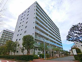 ニューシティ東戸塚クレール丘の街の外観