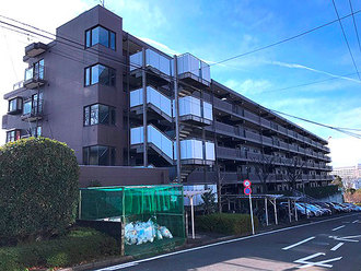 藤和ライブタウン大船3号棟の外観