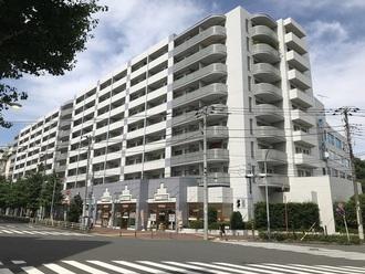 ニューシティ東戸塚パークハウス南の街の外観