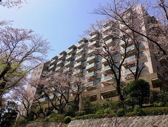 グランドメゾン東戸塚5番館の外観