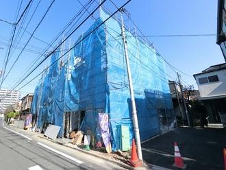 新築戸建て(1号棟)の外観