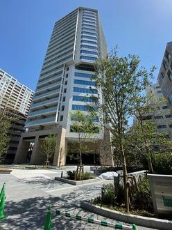 ザ・パークハウス三田タワーの外観