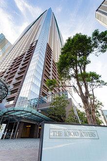 THE TOKYO TOWERSミッドタワーの外観