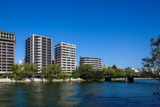 ザ・パークハウス広島平和公園の外観