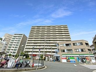 横川ハイタウンの外観