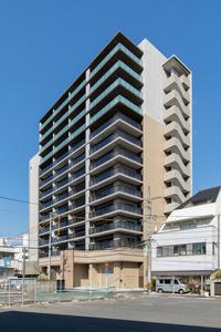 ザ・パークハウス牛田本町ほおずき通りの外観