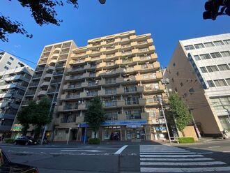 ライオンズマンション早稲田正門通りの外観