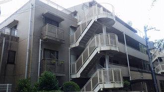 藤和神戸北野町ホームズの外観