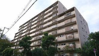 茨木レックスマンションB棟の外観