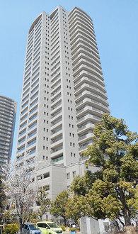 OAPレジデンスタワー東館の外観
