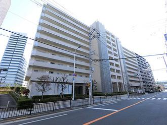 堂島川シティハウスの外観