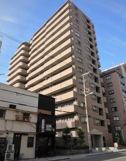 ライオンズマンション梅田中崎町の外観