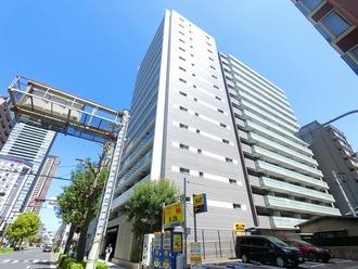 ザ・パークハウス大阪福島の外観