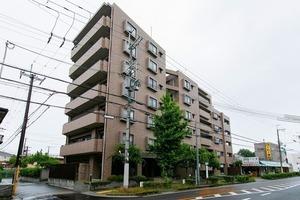 ライオンズマンション豊中熊野町の外観
