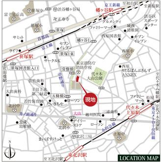 パークコート渋谷大山町ザプラネ翠邸の外観