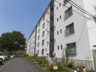 杉田大谷団地7号棟の外観