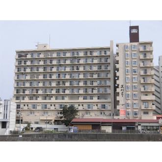 ライオンズマンション片瀬江ノ島の外観