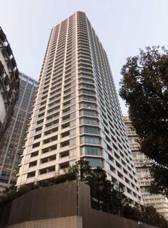 ナビューレ横浜タワーレジデンスの外観