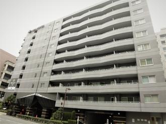 アパガーデンコート京都駅前の外観