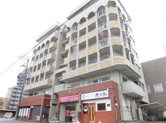 丸美タウンマンション昭和橋の外観