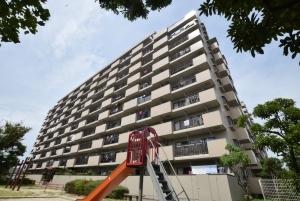 ライオンズマンションニューシティ蟹江三番館の外観