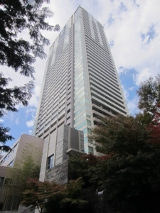 赤坂タワーレジデンス トップ オブ ザ ヒルの外観