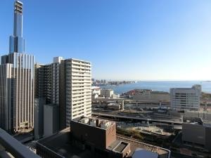ライオンズタワー神戸旧居留地の外観