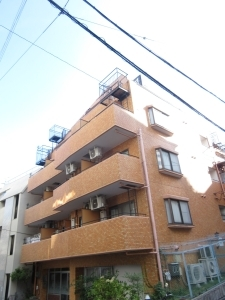 ライオンズマンション神戸花隈の外観