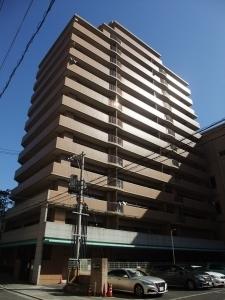 ライオンズマンション呉中央の外観